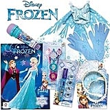 Frozen Elsa Showbag ($28) Includes:  Tiara with plaited headband  Elsa gloves  Dress up cape