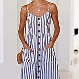 Angashion Midi Dress