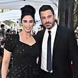 Jimmy Kimmel at Sarah Silverman's Walk of Fame Ceremony 2018