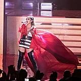 Jennifer Lopez at Hillary Clinton's GOTV Concert in Miami