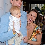 Trista and Ryan Sutter with son Maxwell.