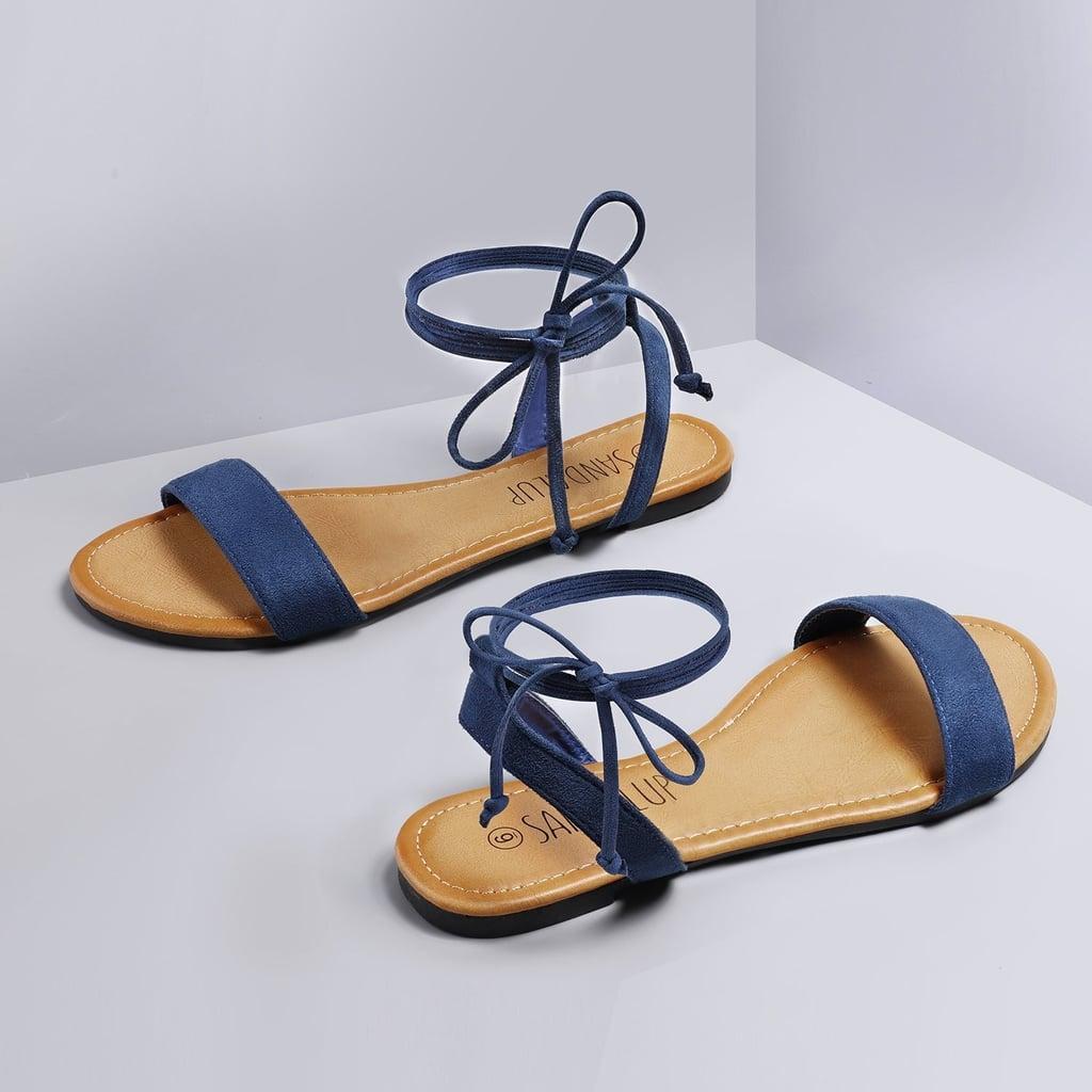 56022fa83e81f Best Flat Sandals on Amazon | POPSUGAR Fashion