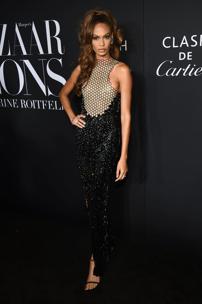Joan Smalls at the Harper's Bazaar ICONS Party During New York Fashion Week