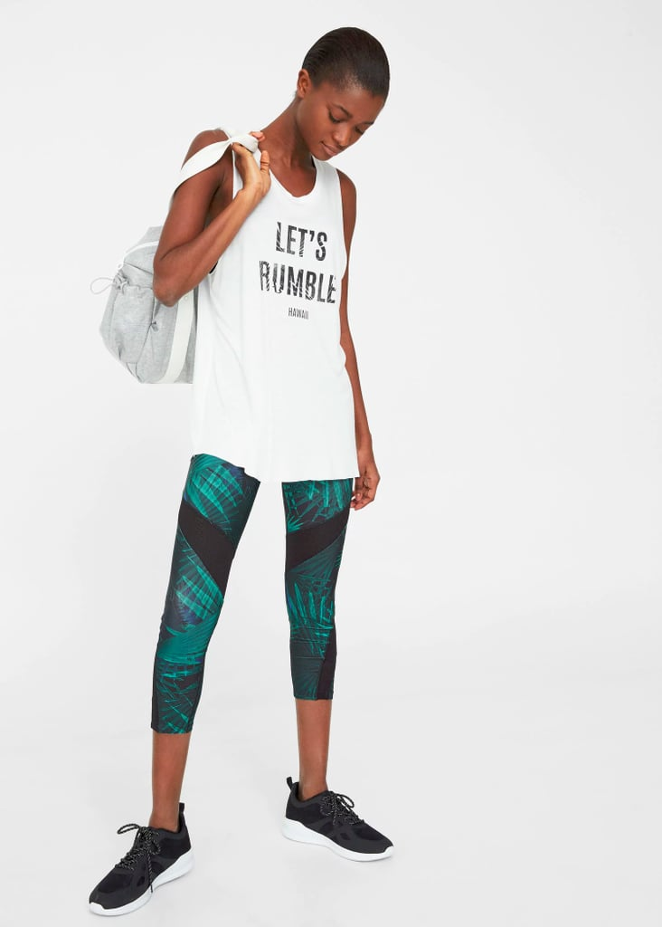 Witty Slogan Gym Tops Spring 2017