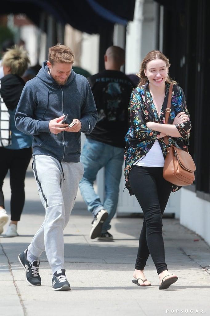 Charlie Hunnam And Morgana McNelis In LA June 2017 ...