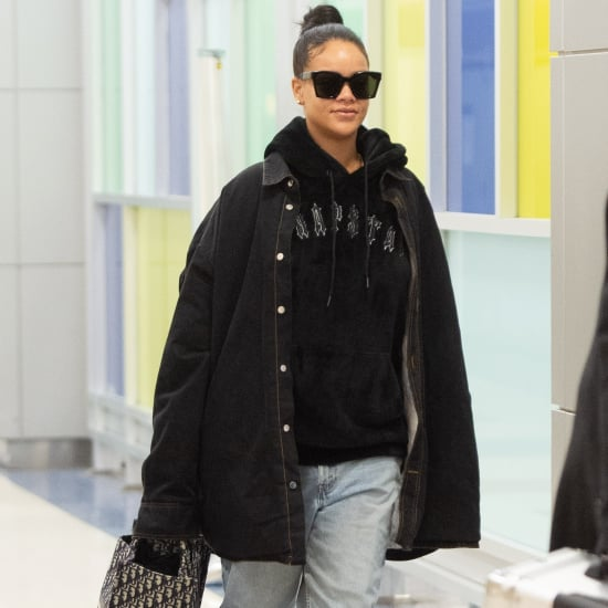 Rihanna Wearing Uggs at the Airport January 2019