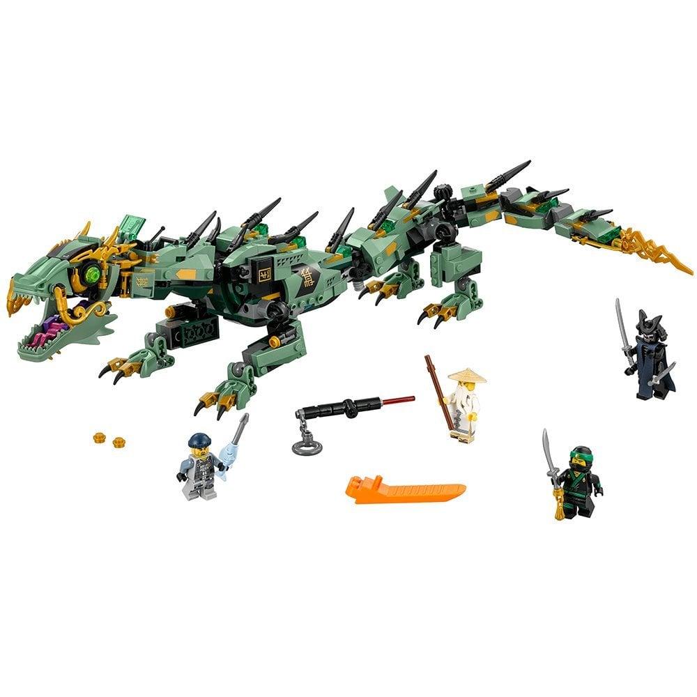 Lego Ninjago Movie Green Ninja Mech Dragon 70612 Building Kit
