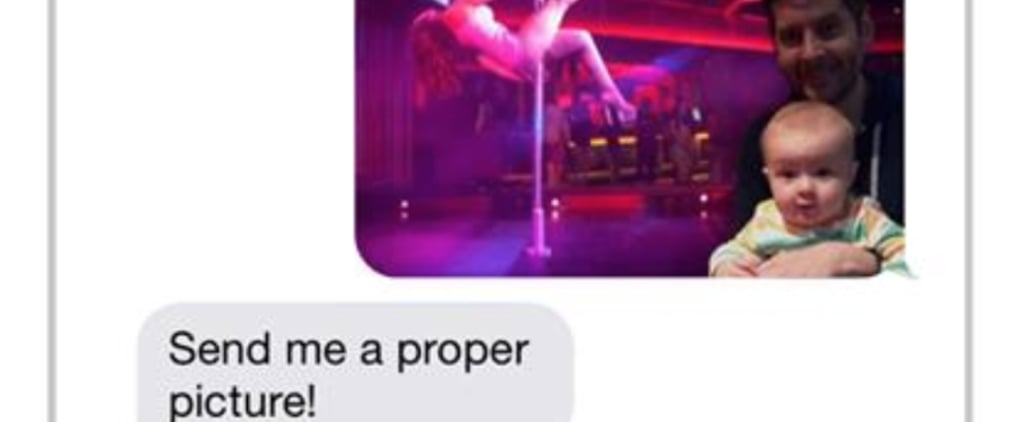 Dad Photoshops Photos of Son in Funny Text Exchange