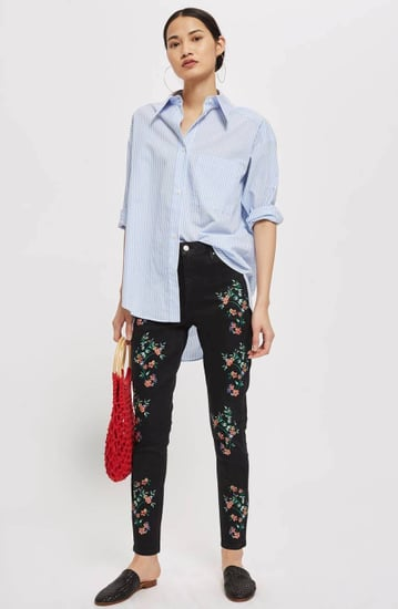 Best Embroidered Jeans 2018