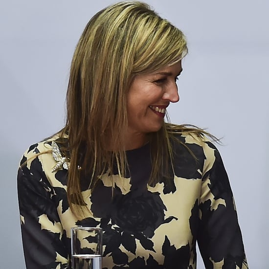 Queen Maxima Floral Peplum Dress Mexico June 2016