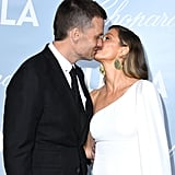 Gisele and Tom locked lips on the red carpet at the Hollywood For Science Gala in February 2019.