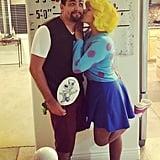 DIY Nostalgic Costumes For Couples | POPSUGAR Smart Living Quailman And Patty Mayonnaise
