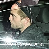 Robert Pattinson arrived at the Chateau Marmont in West Hollywood.