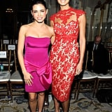 Stacy Keibler and Jenna Dewan posed together.