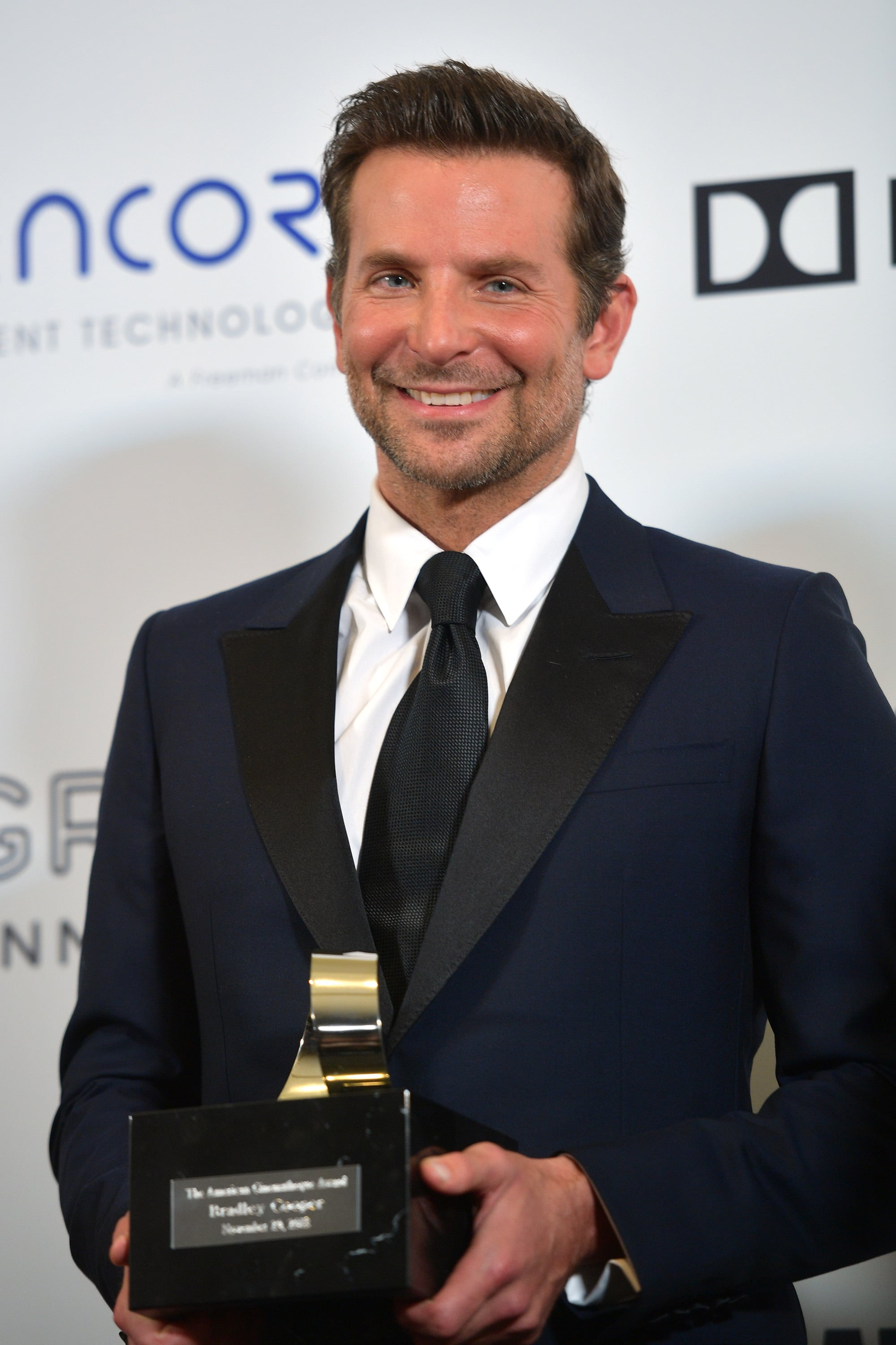 BEVERLY HILLS, CA - NOVEMBER 29:  American Cinematheque 2018 Award Recipient Bradley Cooper attends the 32nd American Cinematheque Award Presentation honouring Bradley Cooper at The Beverly Hilton Hotel on November 29, 2018 in Beverly Hills, California.  (Photo by Matt Winkelmeyer/Getty Images)