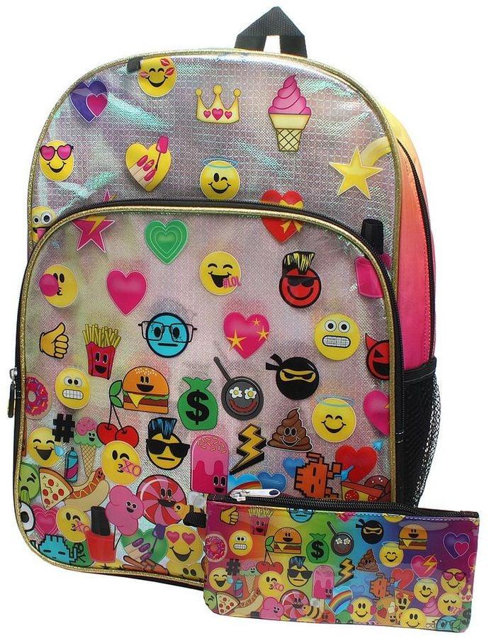 3c14df6b9a Emoji Backpack and Pencil Case Set