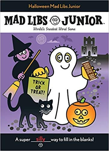 For Ages 6 to 8: Halloween Mad Libs Junior