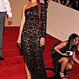 Rihanna at the 2011 Met Gala