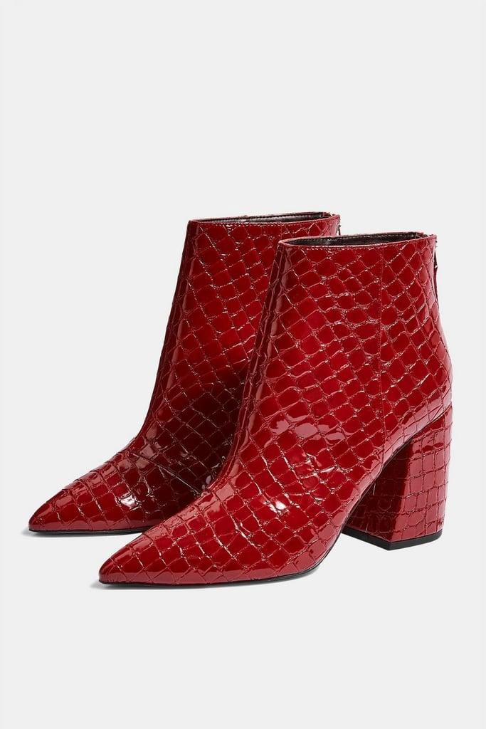 23d8a5ee9cc Topshop Houston Ankle Boots