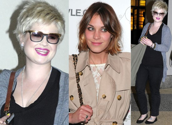 Video and Photos Of Kelly Osbourne At Alexa Chung's TV  Show It's On with Alexa Chung
