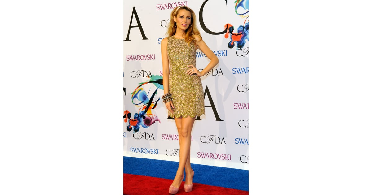 Wearing a Michael Kors dress and Casadei shoes to the 2014 CFDA ... adba541c58c