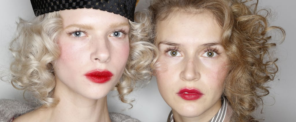 Vivienne Westwood Red Label's Beauty Look Lived Up to Its Name