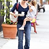 Jennifer Garner Spends a Sweet Afternoon Out With Seraphina Affleck