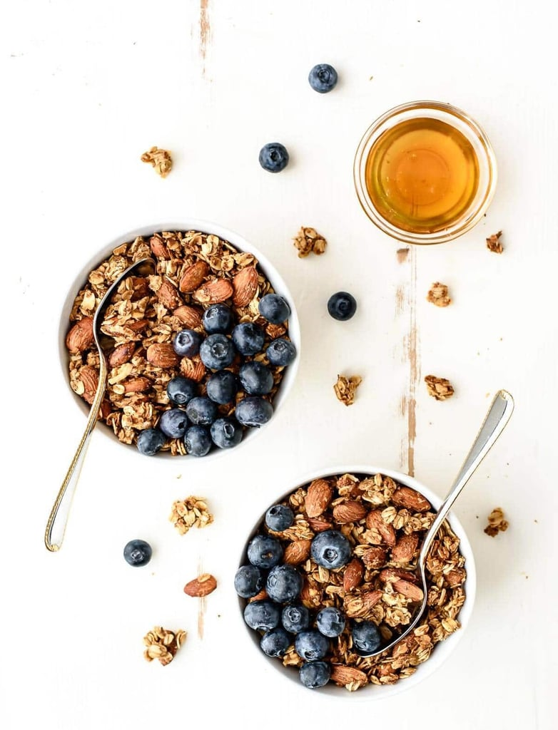 Honey, Almond, and Flax Healthy Granola