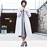 Dressing Down a Girly Coat