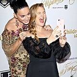 Katy Perry and Drew Barrymore at Children's Hospital