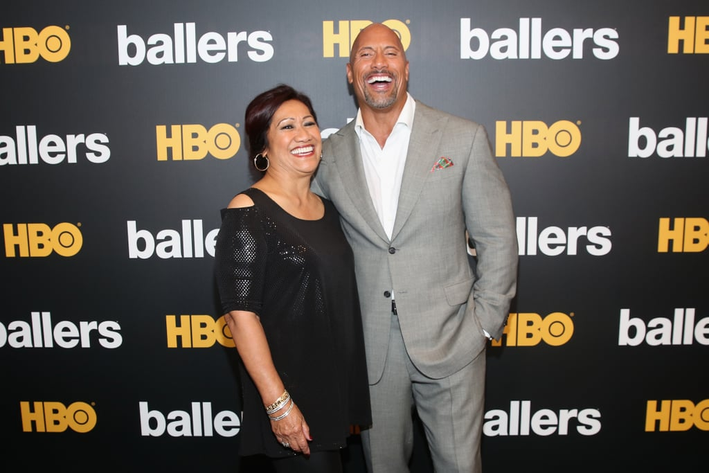 "There's nothing quite like a mother's love, and I'm pretty sure Dwayne Johnson can agree. The 47-year-old actor shares a one-of-a-kind bond with his mom, Ata, and they often give us glimpses of it at The Rock's movie premieres, award shows, and on social media. In fact, this past Christmas Dwayne surprised his mom with a brand-new home.  ""All our lives growing up we lived in little apartments all across the country. Lived like gypsies on the road from one state to another . . . since then I always made sure my mom and dad have everything they'll ever need,"" he explained on Instagram. ""I always say, if you got a good mama, then you gotta pretty good shot at becoming a decent human being. And somehow, somewhere along the line, I became one lucky SOB to be able to make stuff like this happen.""  Now Dwayne may look like a total tough guy on the outside, but he's clearly just one big softie at heart."