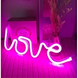 Love Neon Wedding Sign