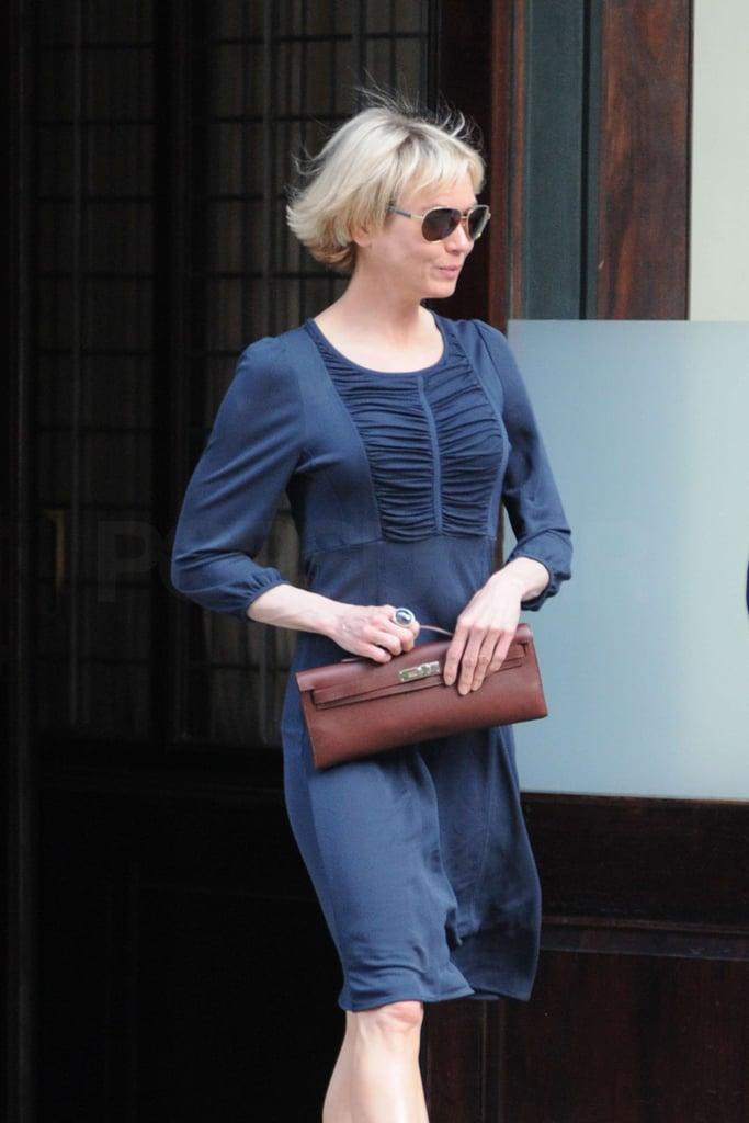 Renée Zellweger and Bradley Cooper in New York City