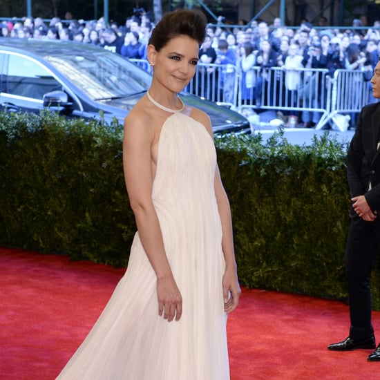 Katie Holmes at the Met Gala 2013
