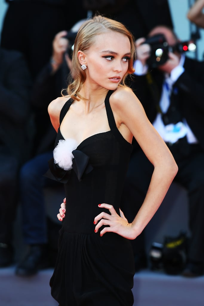 lily rose depp at venice film festival 2016 popsugar celebrity. Black Bedroom Furniture Sets. Home Design Ideas