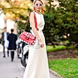 Carry a Red and White Bag