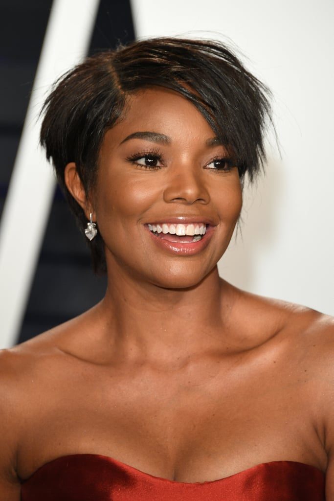 Gabrielle Union S Short Hair 2019 Vanity Fair Oscars Party