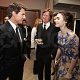 Tom Cruise, Lily Collins