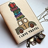 Vintage Car Passport Holder