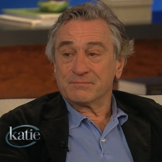 Robert De Niro Crying on Katie | Video
