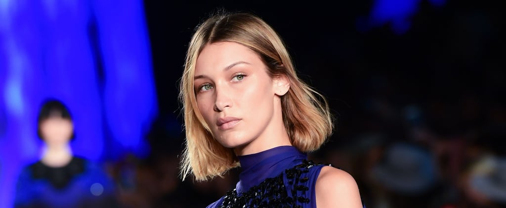Bella Hadid Debuts Blunt Bob Haircut on the Runway
