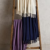 Italian Cashmere Throw ($298)