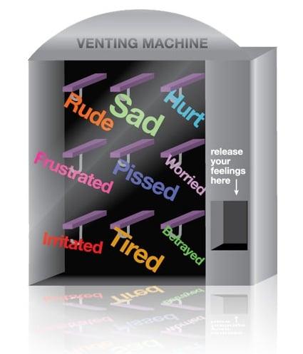 DearSugar's Venting Machine: For English, Please Press One