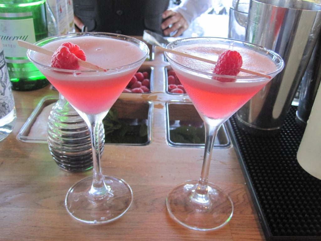 Isn't the Clover Club a delicate and beautiful concoction?