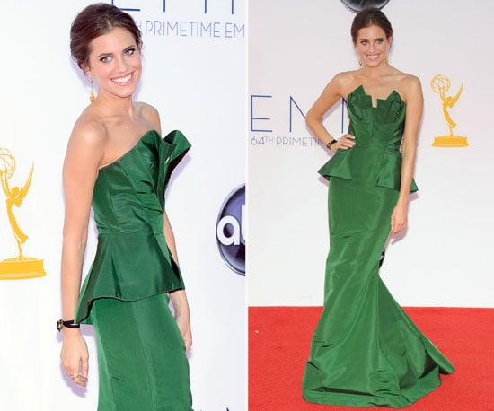 Allison Williams at the Emmys 2012