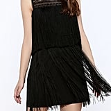 Skies Are Blue Black Flapper Dress