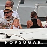 Nicole Richie, Joel Madden, and Kids on a Yacht in France