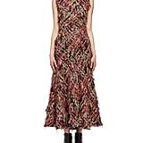 Alexander McQueen Wishing Tree Fringe Tweed Dress