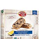Enjoy Life Lemon Blueberry Poppy Seed Chewy Bars
