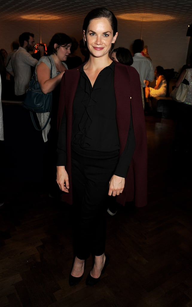 Ruth Wilson paired dark separates at a press event for A Doll's House.